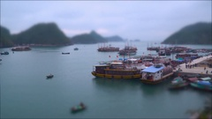 The movement of ships in the Gulf Stock Footage