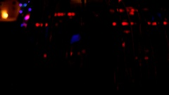Colored Abstract Blurred Light Background in the night club Stock Footage
