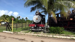 Museum of Steam at Marcelo Salado. Villa Clara, Cuba Stock Footage