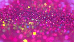 Sparkly pink glitter background in bright colors. Great party background texture Stock Footage