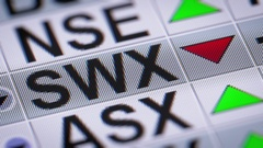 SIX Swiss Exchange (formerly SWX Swiss Exchange) Stock Footage