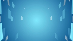Abstract blue hi-tech motion design Stock Footage