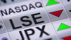 The London Stock Exchange Group is a British-based stock exchange Stock Footage