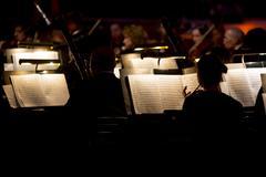 Orchestra symphony dark Kuvituskuvat