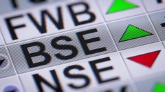 The Bombay Stock Exchange (BSE) is an Indian stock exchange Stock Footage