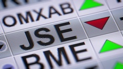 The largest stock exchange in Africa. Stock Footage