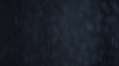 Slow-motion water against black background drops Stock Footage