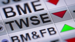 The Taiwan Stock Exchange Corporation is a financial institution Stock Footage
