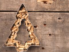 Wooden pellets, energy concept Stock Photos