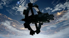 ISS. International Space Station Orbiting Earth Arkistovideo