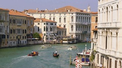 Grand Canal at Venice  Stock Footage