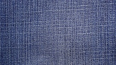 Footage blue denim or jeans texture background Stock Footage