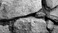 Footage retro stone wall background texture Stock Footage