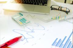 Business finance accounting Stock Photos