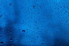 Water raindrops close up Stock Photos