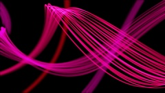 Wonderful Strings Heaven Beautiful Colorful Looped Background Full HD Pink Stock Footage
