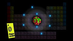 Oxygen with Periodic Table BG Stock Footage