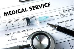 MEDICAL SERVICE  Healthcare  modern medical  Doctor concept , Stock Photos