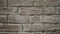 Brick Wall Background - 29,97FPS NTSC Stock Footage