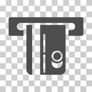 ATM Terminal Vector Icon Stock Illustration
