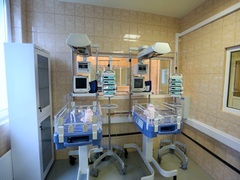 Modern Unit For Newborns at the Hospital Stock Footage