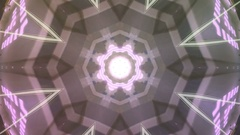 Creative kaleidoscope background Stock Footage