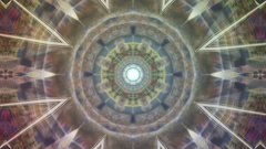 Creative kaleidoscope background Stock Footage