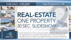 Real-Estate One Property 30s Slideshow 2 - After Effects Template Stock After Effects