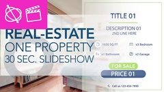Real-Estate One Property 30s Slideshow 6 - Apple Motion and Final Cut Pro X Temp Stock After Effects