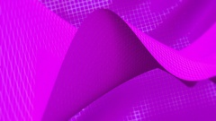 Background of mesh waves purple with soft edges Stock Footage