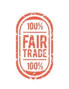 Fair Trade vector Stock Illustration
