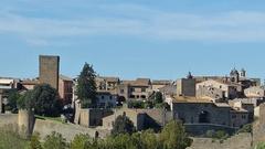 Tarquinia, city landscape, Lazio, Italy Stock Footage