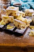 Portion of cake Stock Photos