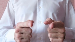 To Point The Finger At You 2 Stock Footage