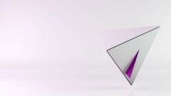 Pyramid transformation background Stock Footage
