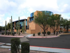 4K UltraHD Timelapse of Gilbert, Arizona City Hall Stock Footage
