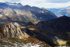 Trient, Valais, Swiss Alps, Switzerland, Europe Stock Photos