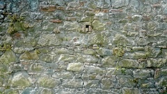 Old Wall of Different Rocks Background - 25FPS PAL Stock Footage