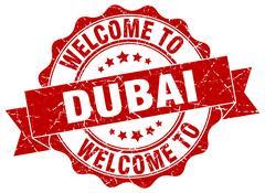 Dubai round ribbon seal Piirros
