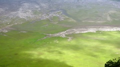 Segara Wed gorgeous flatland situated near active Bromo volcano. Java Indonesia Stock Footage