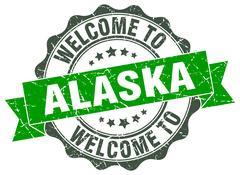 Alaska round ribbon seal Piirros