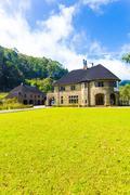 Haputale Saint Benedict Monastery Bungalow Hill V Stock Photos