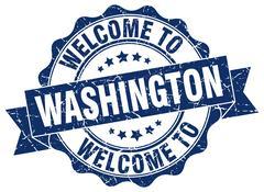 Washington round ribbon seal Piirros