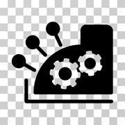 Cash Register Vector Icon Piirros