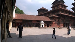 Durbar Square of Kathmandu in Nepal. Stock Footage