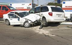 Multi vehicle Collision Stock Photos
