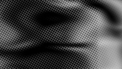 Halftone newsprint abstract motion background Stock Footage
