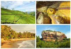 Sri lanka tourism Stock Photos