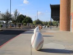 4K UltraHD Peoria Sports Complex in Arizona Stock Footage