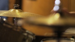 Percussionist Playing Cymbal Arkistovideo